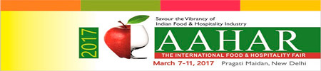 Aahar International Food & Hospitality Fair 2017