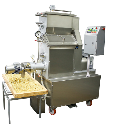 Pasta press the capacity up to 70 kg/hr