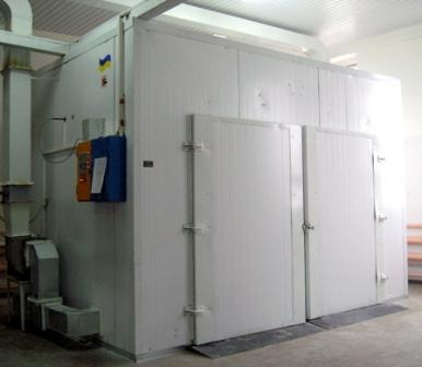 Cabinet-type drying chamber 750 kg per load
